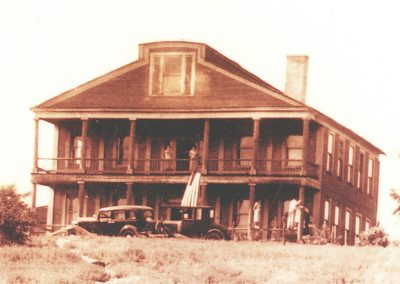 Old Slave House - 1936 cropped